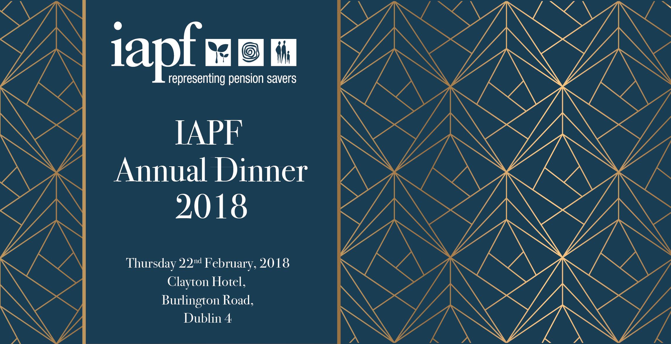 IAPF Annual Dinner
