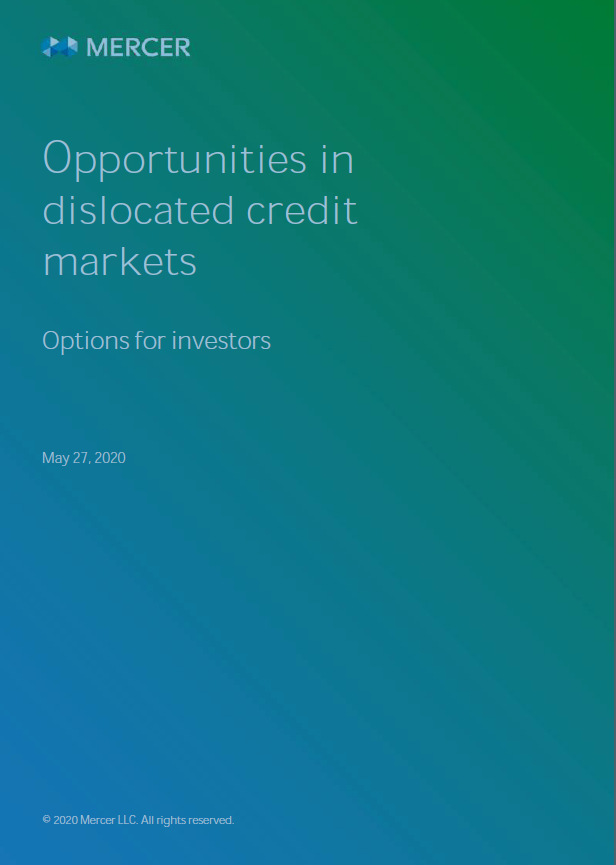 Opportunities in Dislocated Credit Markets