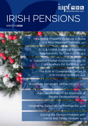 Irish Pensions Magazine Winter 2018
